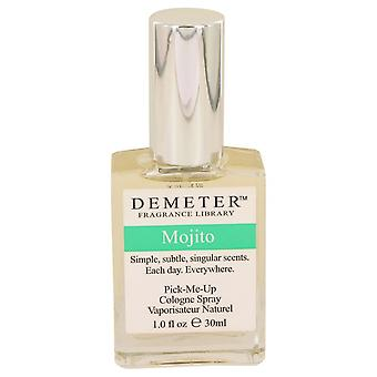 Demeter przez Demeter Mojito Kolonia Spray 1 uncji. / 30 ml (kobiety)