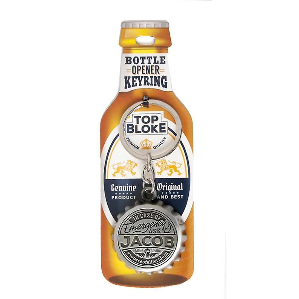 History & Heraldry Keyring - Jacob Bottle Opener