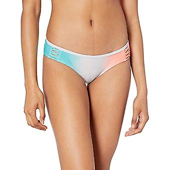 EIDON Women's Rebel Bikini Bottom Swimsuit with Front Strappy Detail, After T...