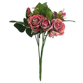 Hill Interiors Artificial Sprayed Rose Flower
