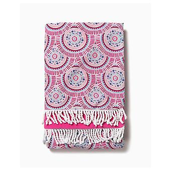 Zippy Reversible Circles Beach Towel