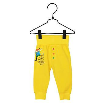 Pippi Pitkäpitkät laina ukset housu keltainen, Martinex