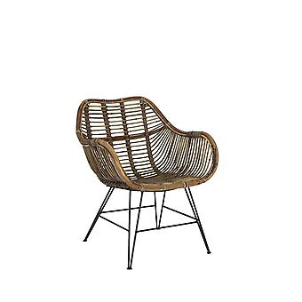 Light & Living Chair 66x60x80cm Malang Rattan Brown