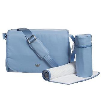 Armani baby, changing bag sky blue