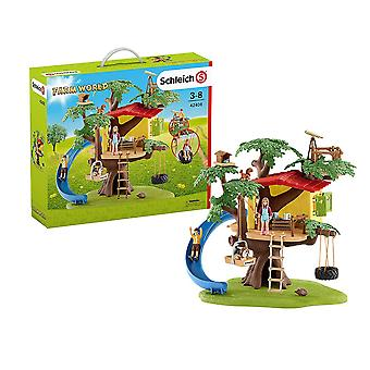 Schleich Farm World Adventure Tree House Playset