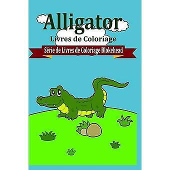 Alligator livres de Coloriage van Le Blokehead
