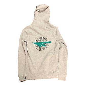 Hi tec unisex hooded sweatshirt - grey