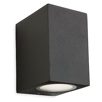 Firstlight Sharp Graphite LED Outdoor Wall Light