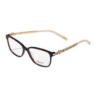 Chopard VCH201R 09XK Shiny Dark Havana Glasses