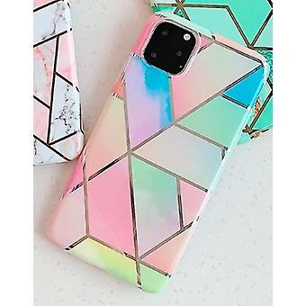 Mobile shell to iPhone 11 different shades of pastel colors