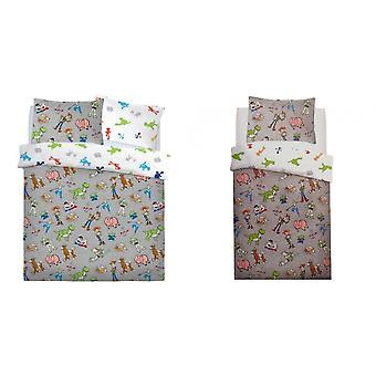Toy Story Childrens/Kids Back In Town Rotary Duvet Cover Set