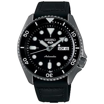 Seiko 5 Sports Black Dial Silicone Strap Automatic Mens Watch SRPD65K3 Seiko 5 Sports Black Dial Silicone Strap Automatic Mens Watch SRPD65K3 Seiko 5 Sports Black Dial Silicone Strap Automatic Mens Watch SRPD65K3 Seiko