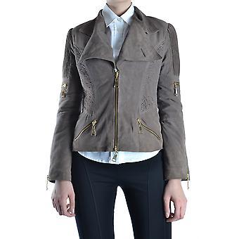 Balizza Ezbc206016 Damen's Braun Wildleder Outerwear Jacke