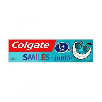 Colgate T/plakken glimlacht Junior 6 + Yrs 50Ml