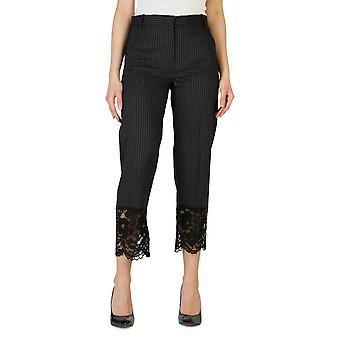 Pinko Original Frauen ganzjährig Hose - schwarz Farbe 31012