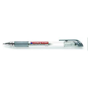 edding-2185 gel roller silver 10PC 0,7 mm / 4-2185054