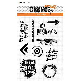 Studio Light Clearstamp Grunge Collection 2.0 nr.362 STAMPSL362 210x148mm