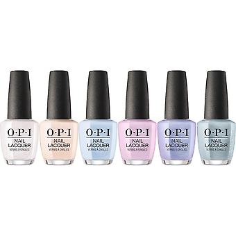 OPI Neo-Pearl Effects 2020 Nail and Gel Polish Collection - (6 X 15ML)