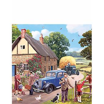 Gibsons Gibsons Jigsaw Puzzle The Evacuees -  4 x 500-piece Jigsaws