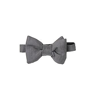 Tom Ford 7tf054chcdkgrysld Men-apos;s Grey Cotton Bow Tie