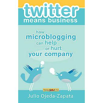 twitter means business how microblogging can help or hurt your company by OjedaZapata & Julio