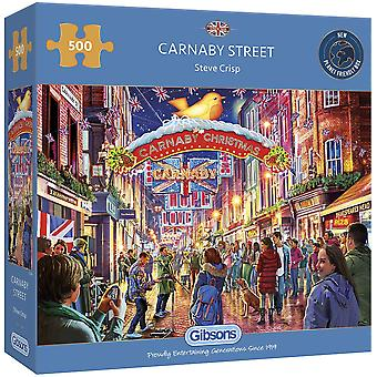 Gibsons 500 Piece Carnaby Street Jigsaw Puzzle