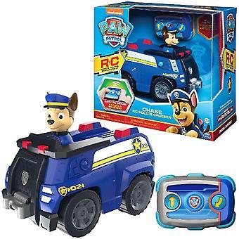 Paw Patrol 6054190 Chase Fernbedienung Polizei Kreuzer mit 2-Wege-Lenkung