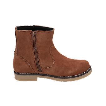mtng NINA kids girls boots brown lace-up boots winter