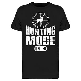 T-paita - Hunting Mode On Tee Men's -Image by Shutterstock