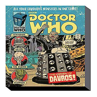 Dr Who 60cm x 80cm Wall Art Canvas