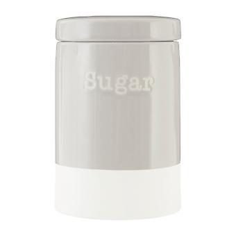 Premier Housewares Jura sucre boîte métallique, gris