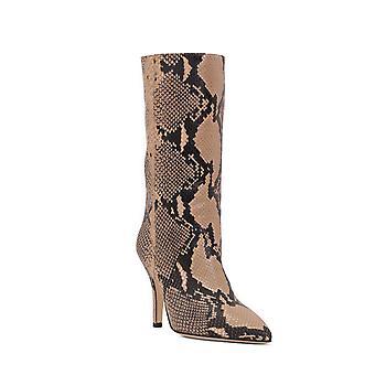 Paris Texas Px206xpna1beige Women's Beige Leather Ankle Boots