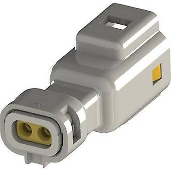 EDAC Pin behuizing - kabel 560 Totaal aantal pinnen 2 Contact afstand: 2,50 mm 560-002-000-110 1 pc(s)