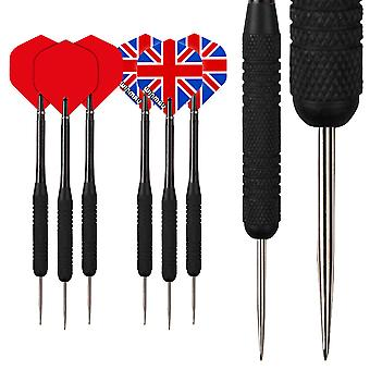 RED DRAGON Strata 19 Piece Darts Set with Flights & Shafts