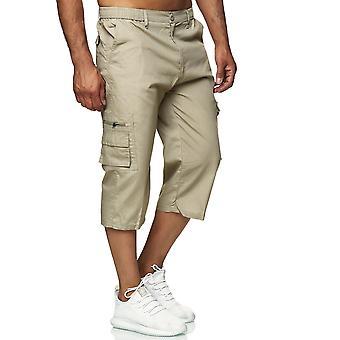 Men's Cargo Shortsit Rento housut joustava vyötärönauha slip-on housut Light Outdoor
