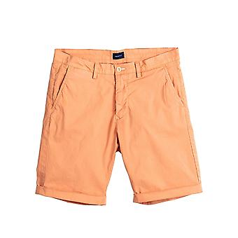 Gant Men's Sunbleached Shorts Regular Fit Coral