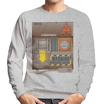 The Crystal Maze Lock In Board Rust Men's Sweatshirt