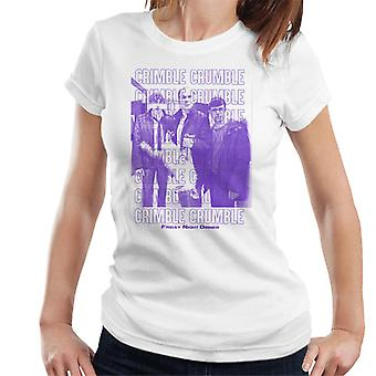 Friday Night Dinner Crimble Crumble Kvinnor & apos, s T-shirt