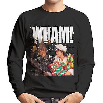Wham! White Logo Men's Sweatshirt