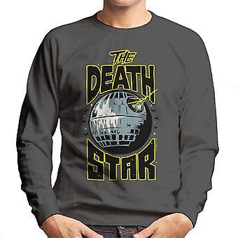 Star Wars The Death Star Planet Destroyer Men's Sweatshirt