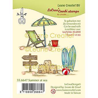 Leane Creatief Sommer på havet klare frimærker