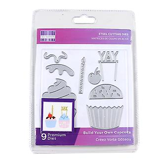 First Edition Cutting Dies - Build Your Own Cupcake (FEDIE281)
