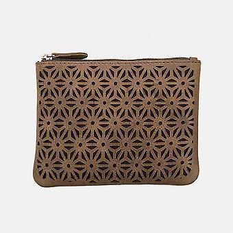 Primehide Womens Large Leather Coin Purse RFID Blocking Ladies Wallet 3909