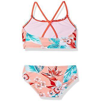 Kanu Surf Big Girls' Alania Flounce Bikini Beach Sport 2-Piece Swimsuit, Chlo...
