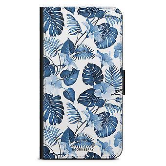Bjornberry محفظة القضية LG G5 - الزهور الزرقاء