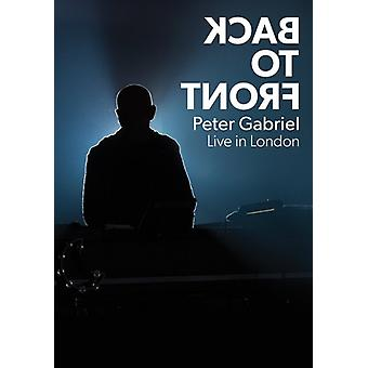 Peter Gabriel - Back to Front: Live in London [DVD] USA import