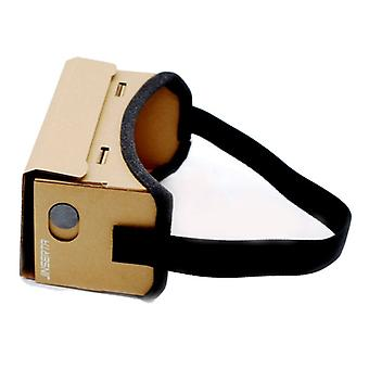 JINSERTA Cardboard VR Virtual Reality Box 3D Glasses for Smartphones