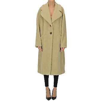 Malìparmi Ezgl194043 Women's Beige Polyester Coat