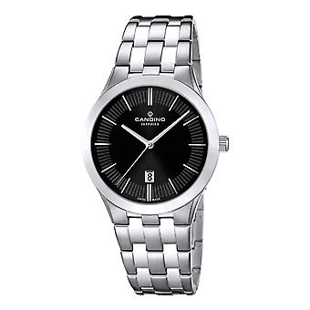 Candino C4543-3 Women's Black Dial Wristwatch With Date