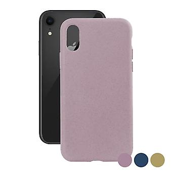 Couverture mobile Iphone Xr KSIX Eco-Friendly Pink